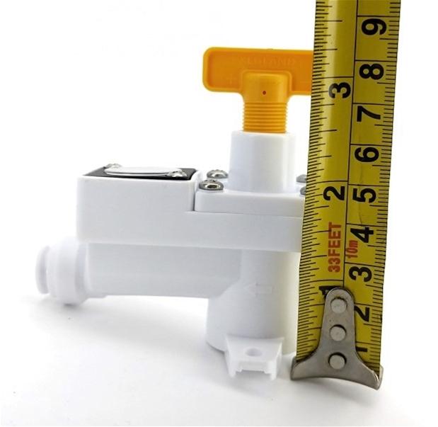 Kegland Duotight Inline Secondary Regulator Integrated Gauge 0-60 Psi KL15035