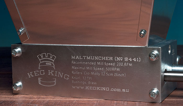 Maltmuncher Dual Roller Mill