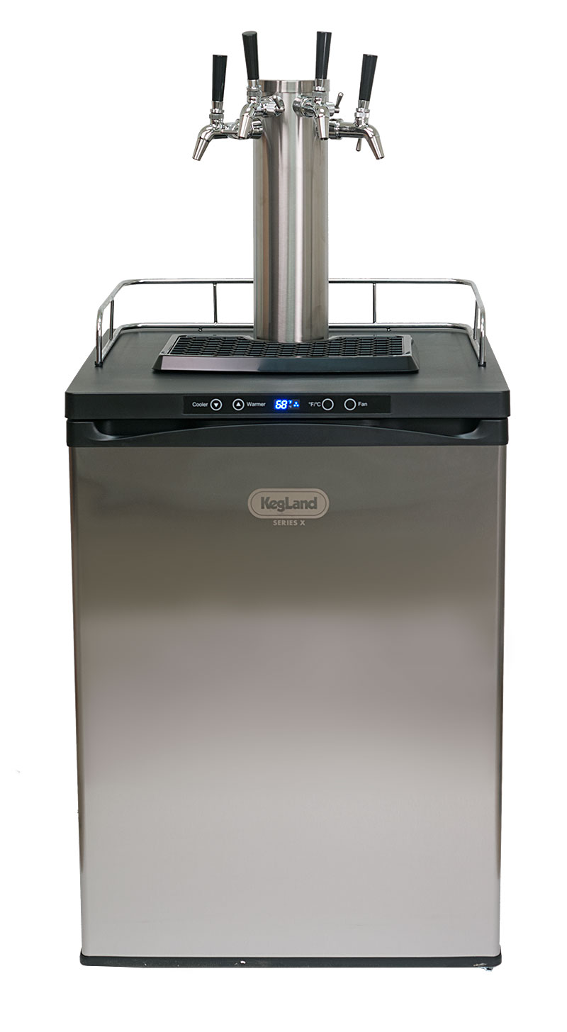 KegLand Series 4 Kegerator on