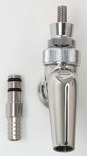 Get the Perlick Faucet 630SS Growler Filler from William\'s Brewing