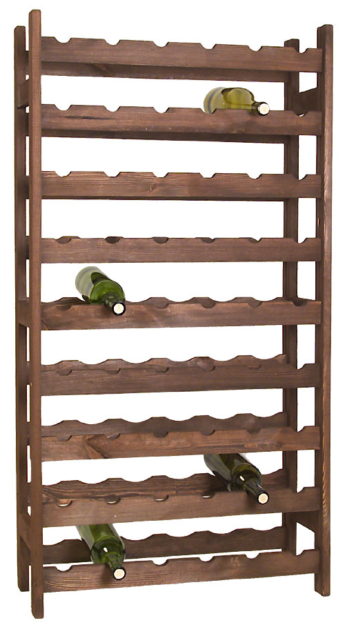 capacity carbonized x shelf display rack hokipo foldable wine organizer buy wooden rol dp