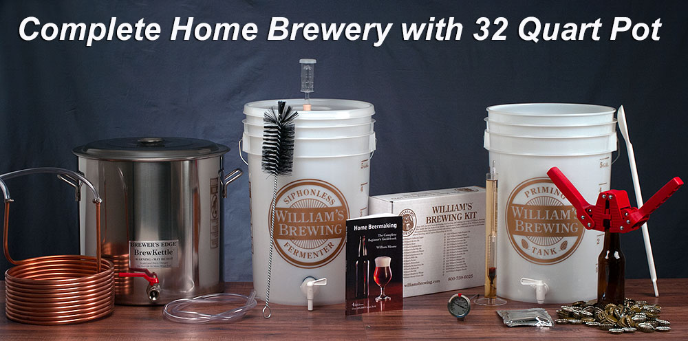 WILLIAM'S HOME BREWERY