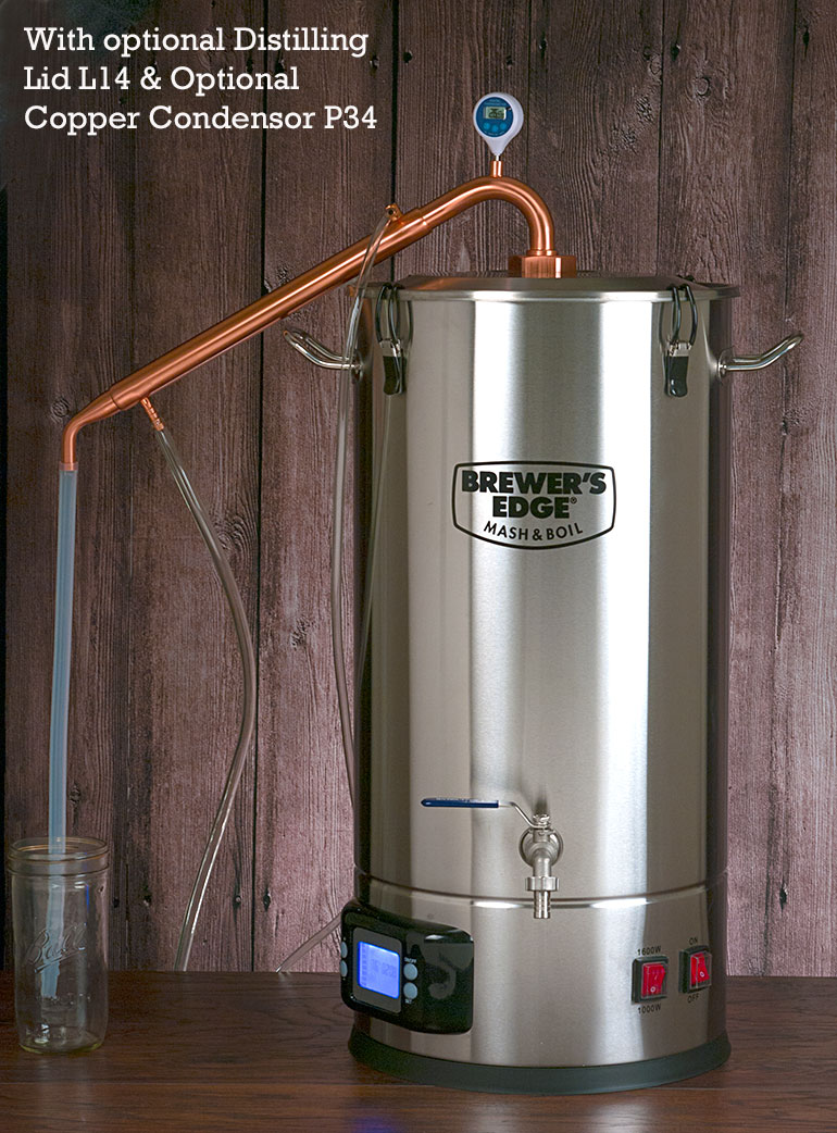 Brewers Edge Mash Boil Wire 240v Electric Brew Pot Controller Home Forums This Shows It With Optional Lid L14 And Condenser P34