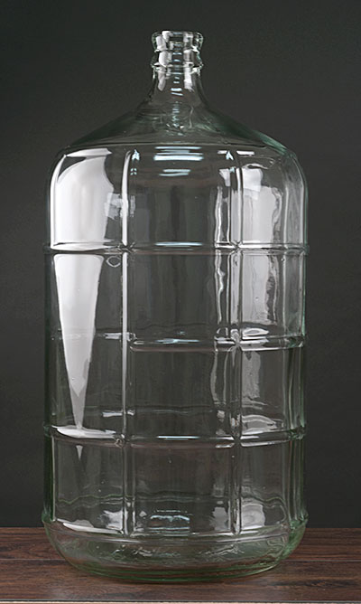 65 Gallon Glass Carboy Actual Cost Shipping Item