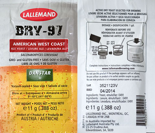 LALLEMAND BRY-97 WEST COAST ALE