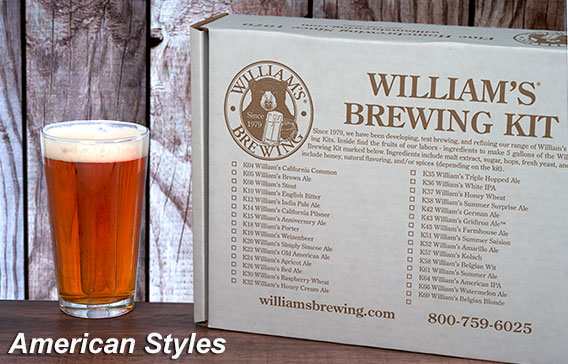 American-Style Home Brewing Kits