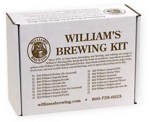 WHISKEY BARREL STOUT HOME BREWING BEER KIT