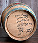USED 5 GALLON OAK WHISKEY BARREL (actual shipping item)