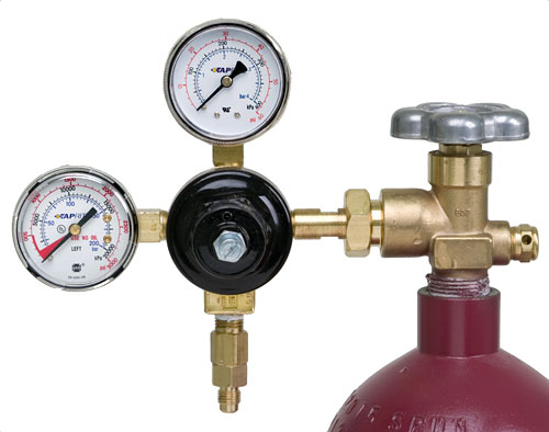 Two Gauge Nitrogen Regulator