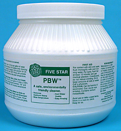 8 Lb. Five Star PBW Cleaner