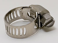 "7/32"" By 5/8"" Stainless Hose Clamp"