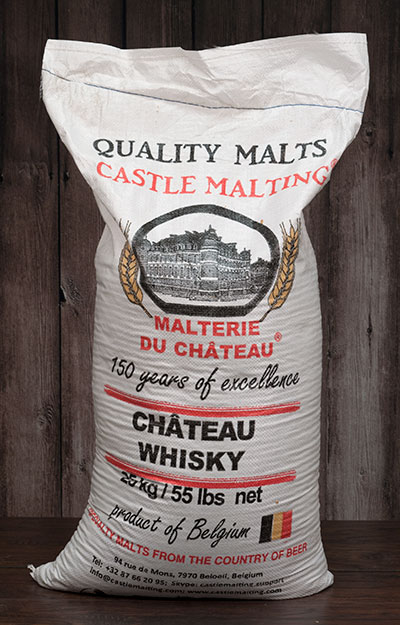 55 lbs. Castle Whisky® Malt (Actual Shipping Item)