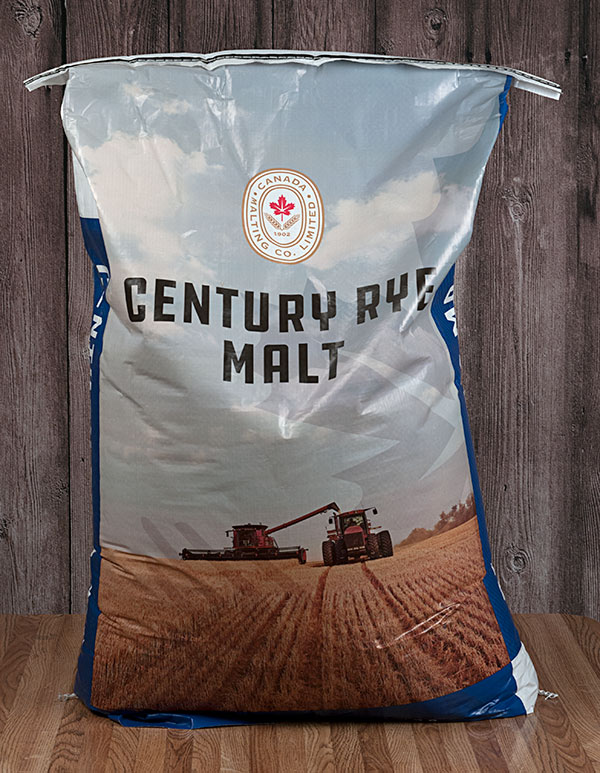 55 Lbs. Canada Rye Malt (Actual Shipping Item)