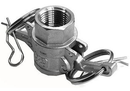 "Type D Cam Lock Female by 1/2"" Female BSP"