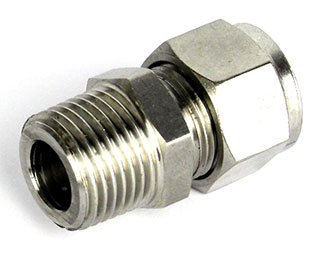 "12.7mm Compression Fitting to 1/2"" BSP Male"