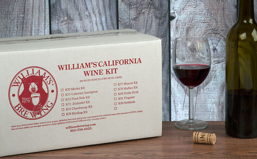 CALIFORNIA MALBEC  KIT FOR 5 GALLONS