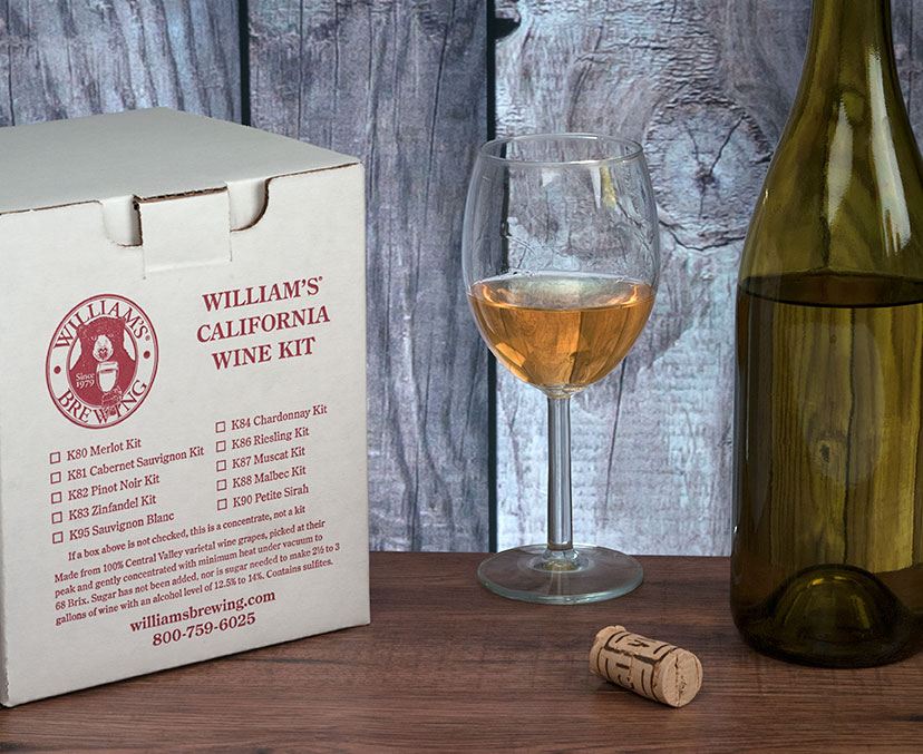 Muscat Wine Making Kit For 3 Gallons