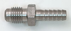 "Male Flare To ¼""  Hose Barb"