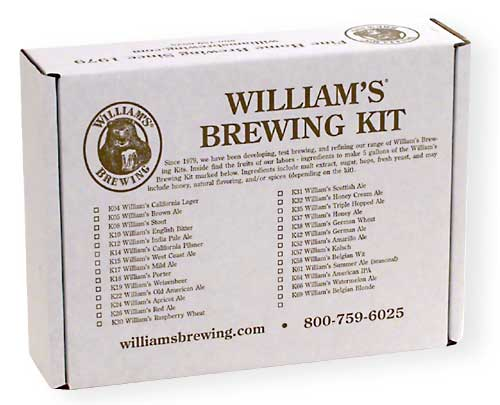 Raspberry Wheat Home Brewing Beer Kit